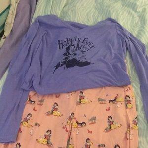 Disney pajamas by munki